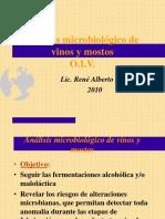 Análisis Microbilógico de Vinos y Mostos