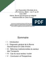 18 Bonne Gouvernance Et Integrite Institutionnell