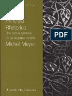 Meyer Michel - Principia Rhetorica - Una Teoria General de La Argumentacion