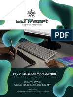 Agenda Academica SENAsoft 2018