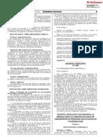 Decreto Legislativo que desarrolla medidas para la atención de casos de desaparición de personas en situación de vulnerabilidad
