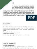 PPT INTRODUCCION Y TIPOS ACABADOS.pptx