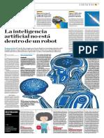 La Ianteligencia Artificial No Está Dentro de Un Robot