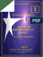 Valladolid, José María (editor) - Las 4 Primeras biografías de SJB de La Salle-Tomo 02