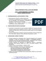 plan de trabajo en consultoria de obras