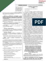 Decreto Legislativo que modifica el Decreto Legislativo N° 1023 Decreto Legislativo que crea la Autoridad Nacional del Servicio Civil rectora del Sistema Administrativo de Gestión de Recursos Humanos y la Ley N° 30057 Ley del Servicio Civil