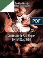 Quaresma São Miguel Arcanjo Formação Leoninas. PDF . Para Imprimir