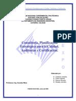 Consultoria Planificacion Estrategica Calidad Auditorias y Certificacion