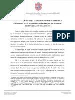 Academia de Derecho Cba DECLARACIONABORTO