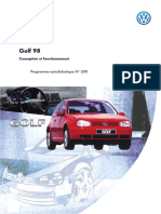 SSP 200 Golf 98 Conception Et Fonctionnement