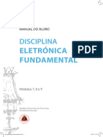 MANUAL DO ALUNO DISCIPLINA ELETRÓNICA FUNDAMENTAL