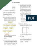 Lista 1 – Turma Revisão – Matemática – Olavo Pré-Vestibular