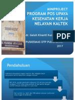 Mini Project Pos Ukk Nelayan Dr Galuh