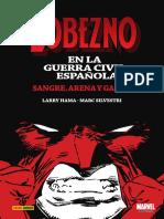 Lobezno en la Guerra Civil Española. Sangre, arena y garras