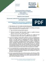 Uinl Paris 2016 - Electronic Authentic Deeds
