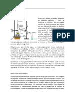 Practica 4 - Destilacion