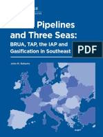Three Pipelines and Three Seas