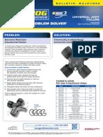 Crucetas Moog Compatibles Con Yugos de Aluminio (Inglés)