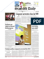 The Stanford Daily, Oct. 7, 2010
