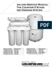 Water Filter 5-Stage Manual