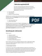 Jobinserate - Richtiges Posten