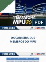 1 Maratona MPU Gilcimar Rodrigues 2018