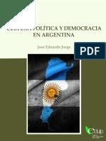 Eduardo Jorge - Cultura Política y Democracia