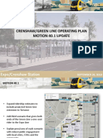 Crenshaw:Green Line Operating Plan Motion Update