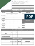 1° Reporte evaluación