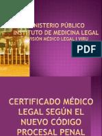 Ministerio Público de Medicina Legal - Dr. Cesar Quito Santos.pptx