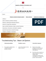 Ejector Troubleshooting Tips From Graham Corporation _ Graham Corporation