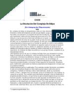 Freud, Sigmund - Disolucion Del Complejo de Edipo, La