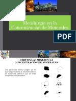 Clase 10 Procesos Mineros Metalurgicos Generalidades