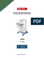 Suction Unit Hospivac User Manual