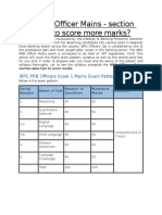 IBPS RRB Officer Mains Section-wise Tips