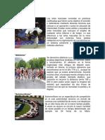 60 disciplinas deportivas