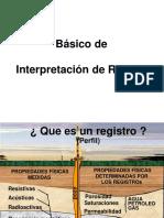 REGISTRO DE POZOS - Consideraciones Genrales