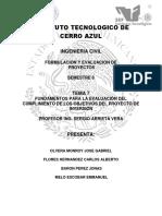 Tema 7 Fundamentos Para La Evaluacion Del Cumplimiento de Los Objetivos Del Proyecto de Inversion