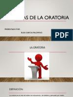 Técnicas de La Oratoria.elocuación