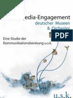 Das Social-Media-Engagement deutscher Museen und Orchester 2010