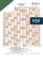 Calendario Letivo 2018-19