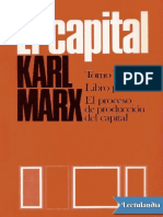 El Capital P Scaron Libro primero Vol 2 - Karl Marx.pdf