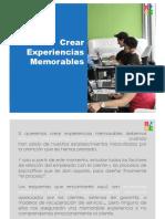 Crear Experiencias Memorables