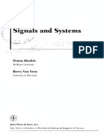 Signals and Systems - Haykin