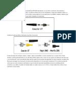 Connectors Fibra òptica
