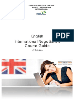 English International Negotiation Course Guide 2edic