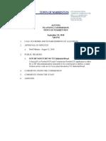 Planning Commision Agenda_91818