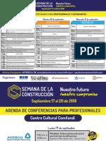 Agenda Semana de La Construcción