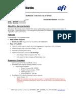 Micro Press 7.0.0.4 EFGS Service Bulletin Ricoh