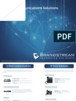Complete Portfolio - Grandstream All Product Brochure
